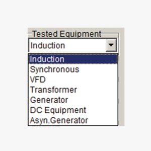 ALL-TEST Pro On-Line II™ (ESA) Software Tested Equipment Screen