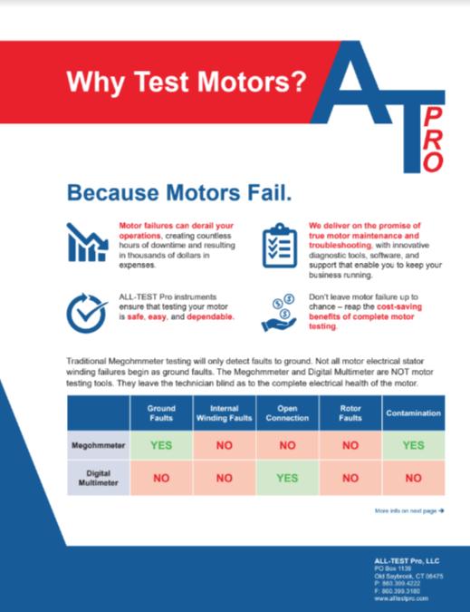 why-test-motors-literature